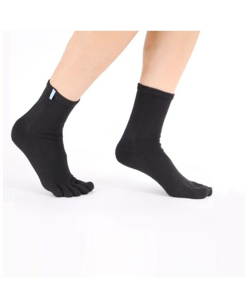 Toetoe Sports Runners Ankle (halfhoog) zwart