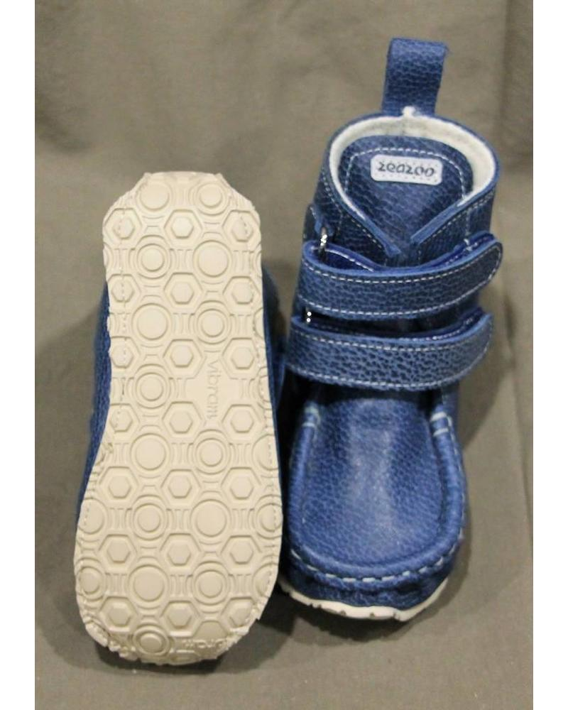 Zeazoo YETI Blauw met klittenband