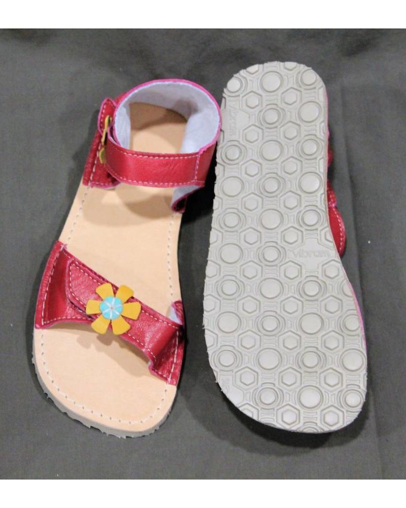 Zeazoo Sandaal Ariel Watermelon (roze met bloemetjes)