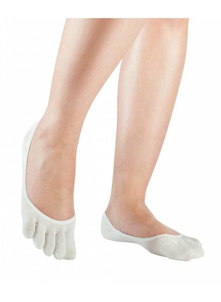 Knitido Silkroad zijden lage sokjes wit