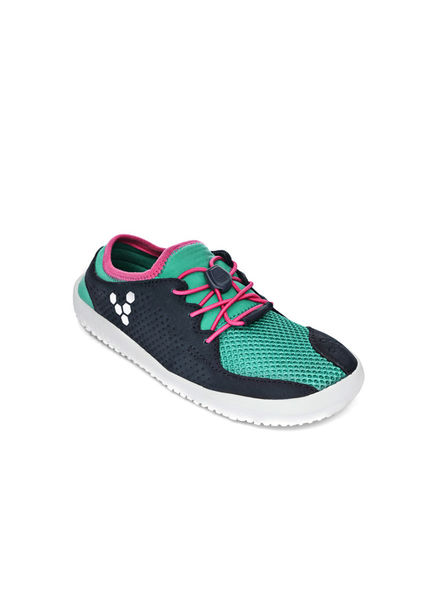 Vivobarefoot Primus Kids Mesh Navy/Turquoise