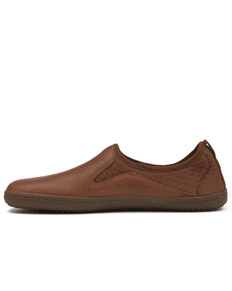Vivobarefoot SALE: Slyde Leather Men Tobacco