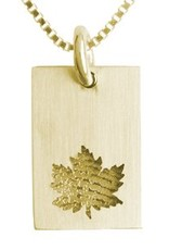 Rectangle with Maple leaf
