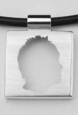 Quadrat klein, offenes Profil mit Rand