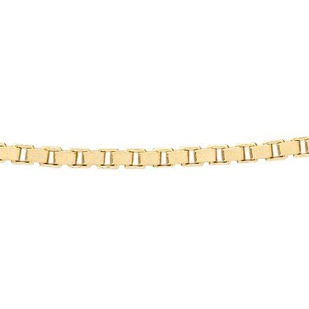Venetian chain - Ø 1,4 mm. - yellow gold
