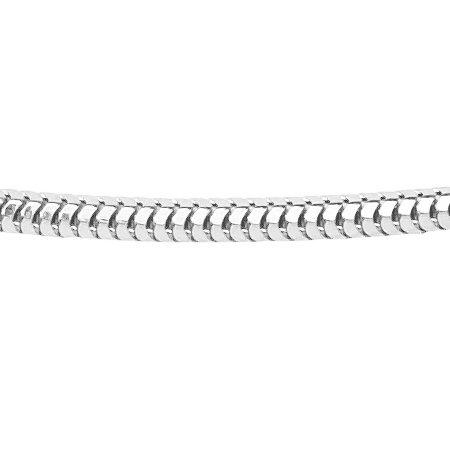 Maille serpent - Ø 1,2 mm. - argent
