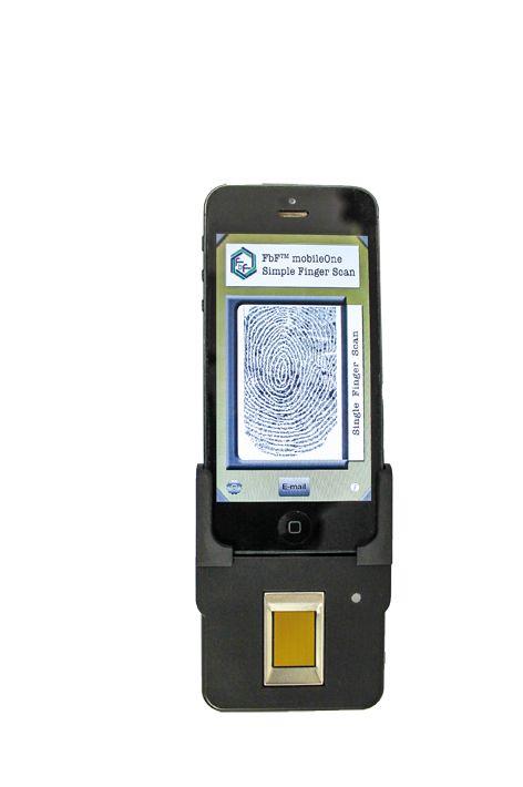 FbF mobileOne Quickdock fingerprintscanner