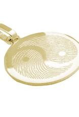 Yin Yang pendant, flat