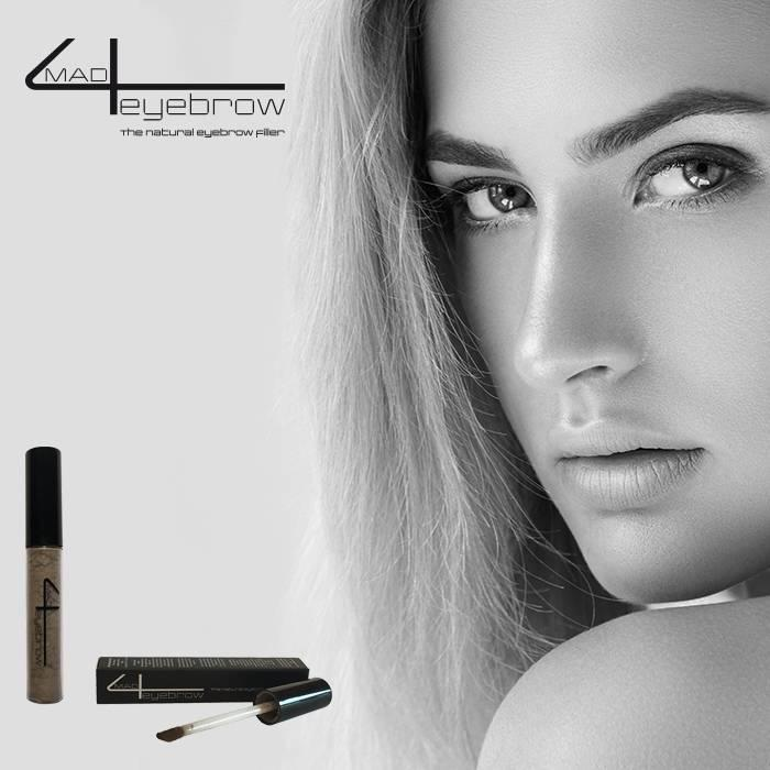 """mad4eyebrow """"Mid-brown"""" the natural eyebrow filler"""