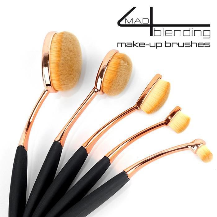 Mad4blending 5 delige set Make-up brushes