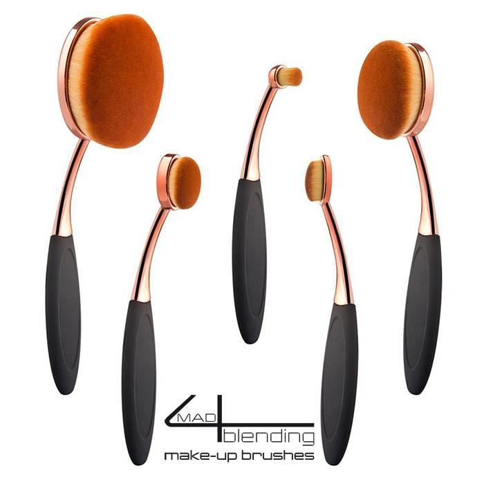 Mad4blending set van 5  Make-up brushes
