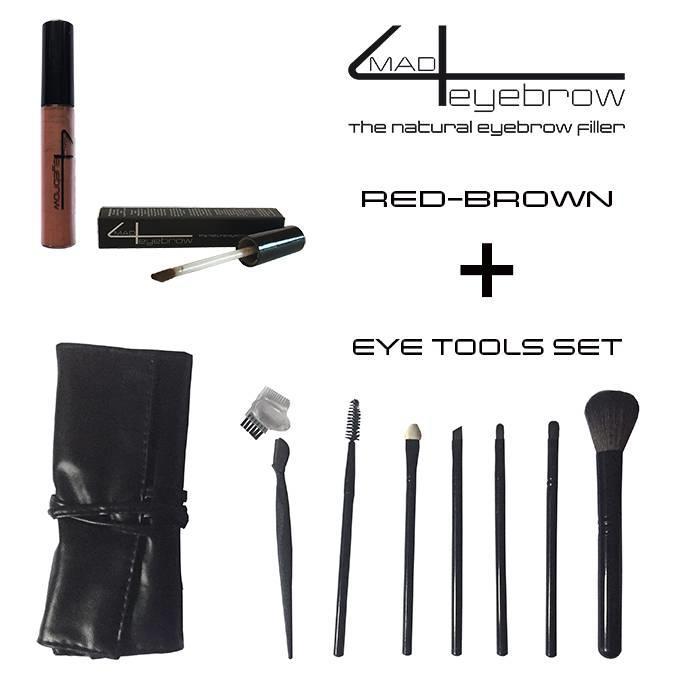 mad4eyebrow eyebrow filler + eye tools set