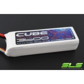 SLS Batteries SLS X-CUBE 3600mAh 6S1P 22,2V 30C/60C       SLSCUX36006130