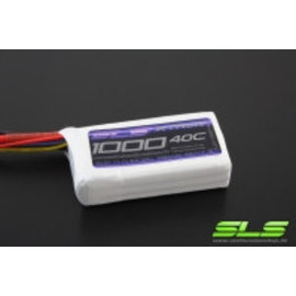 SLS Batteries Xtron 1000mAh 3S1P 11,1V 40C/80C        SLSXT10003140