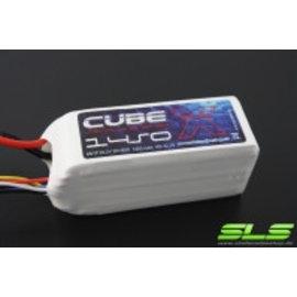 SLS Batteries SLS X-CUBE 1450mAh 6S1P 22,2V 30C/60C       SLSCUX14506130