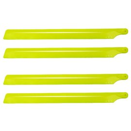 1_Oxy Heli Plastic Main Blade 210mm, 2 set, Yellow           SP-OXY2-147