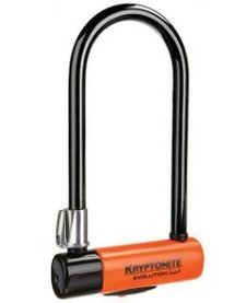 Kryptonite Evolution Series 4 U-lock, With FlexFrame Bracket