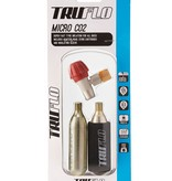 Truflo Truflo Micro C02 Pump Inc 2 Cartridges