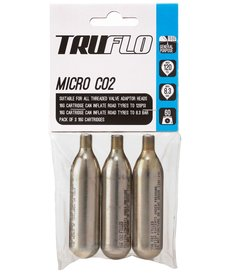 Pump Truflo CO2 Refill 16g Cartridges, 3 Pack