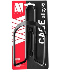 M:Part Bottle Cage 6mm Alloy, Black