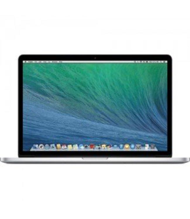 Apple Macbook Pro  Retina Zilver 8gb 15 inch 2.3 GHz