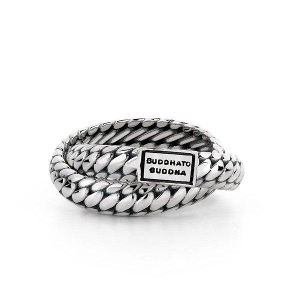 Ben Double zilveren ring (607)