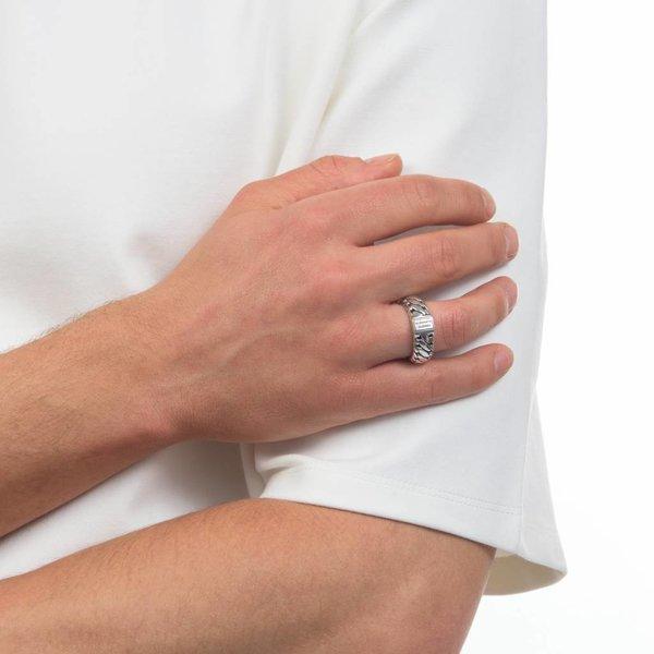 Ben Small zilveren ring (542)