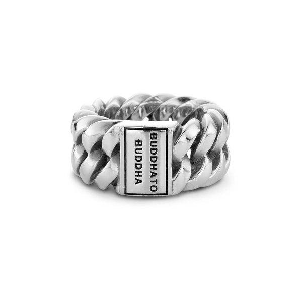 Chain zilveren ring (500)