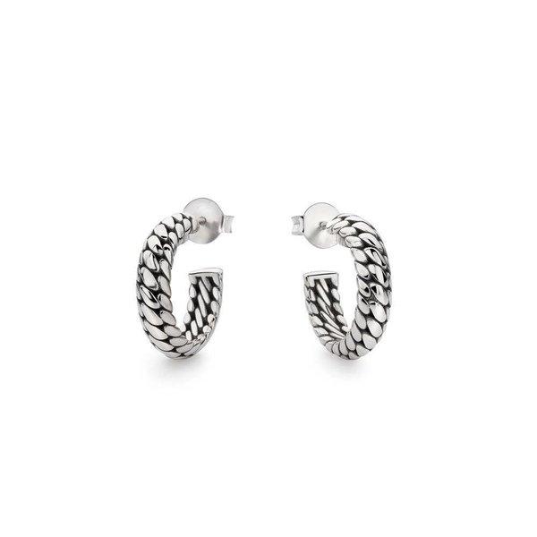 Ben Small zilveren oorbellen (437)
