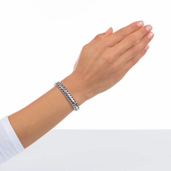 Ben zilveren armband (070)