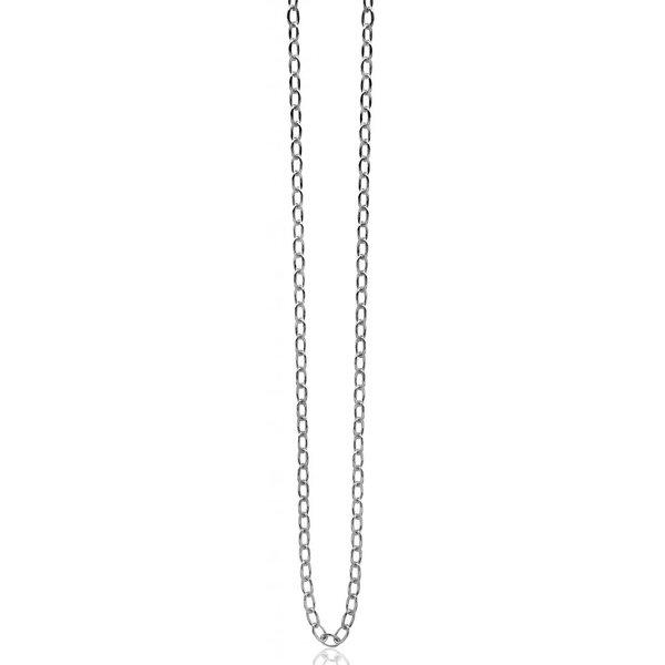 Zilveren ketting CH-C3 (45 cm)