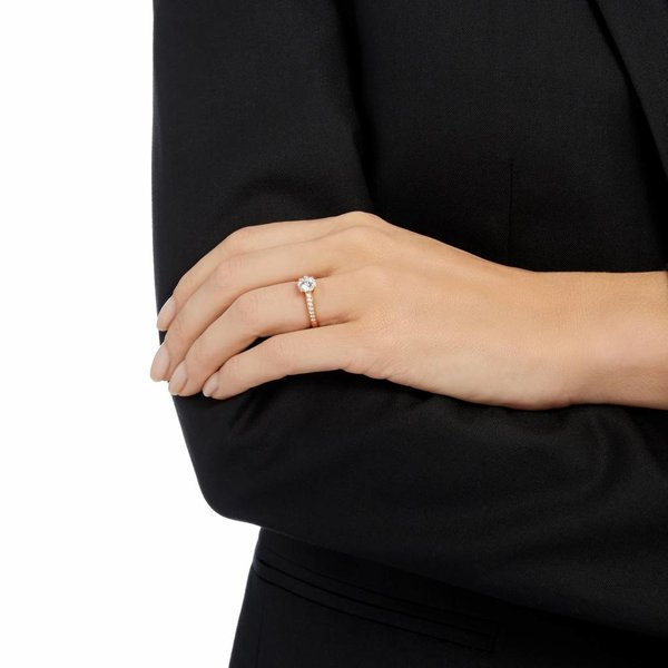 Attract Ring Round - Rosegold (Classic Jewelry)