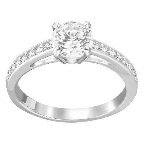 Swarovski Attract Ring Round - Silver