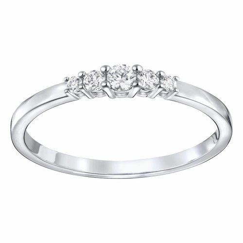 Swarovski Frisson Ring - Silver