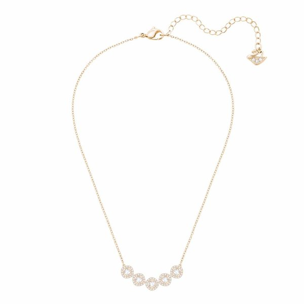 Angelic Square Ketting 5351305 - Rosegold (38 cm)