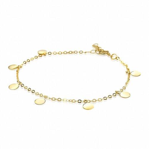 Zinzi Gold Geelgouden Armband ZGA167