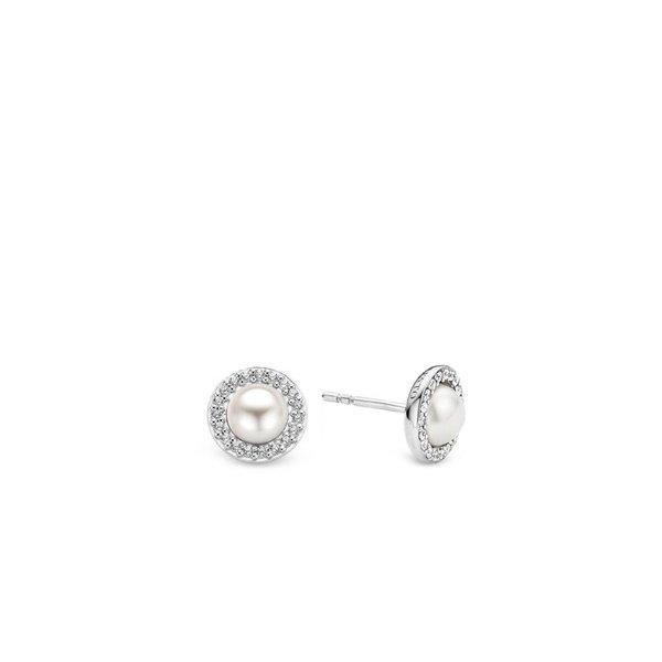 Zilveren oorbellen 7695PW