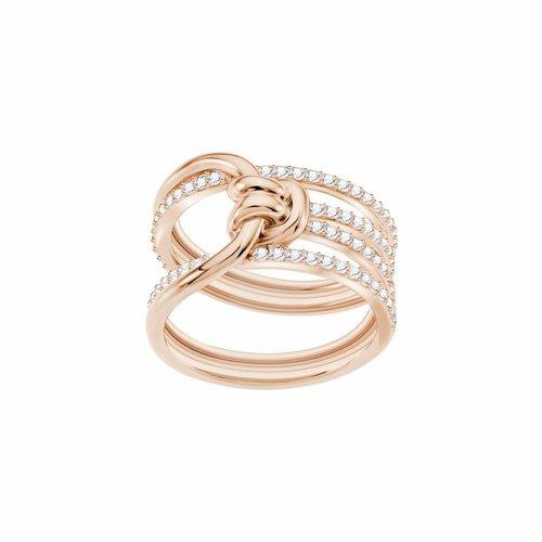 Swarovski Lifelong Ring Wide - Rosegold