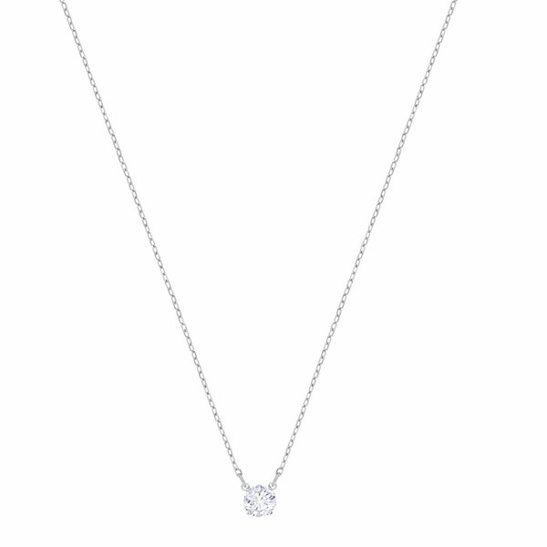 Attract Ketting Round 5408442 - Silver (38 cm)
