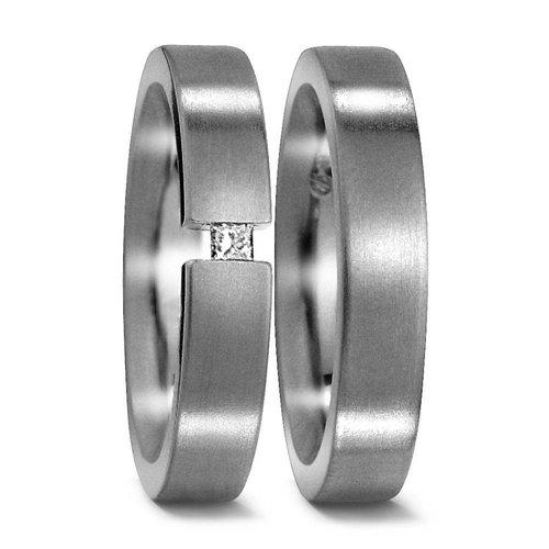 TitanFactory Titanium trouwringen 50954