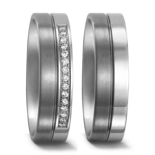 TitanFactory Titanium trouwringen 51670/51671