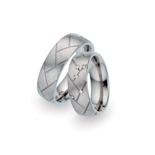 TitanFactory Titanium trouwringen 52355/52337