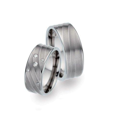 TitanFactory Titanium trouwringen 52360/52359