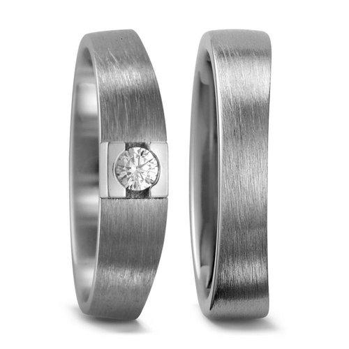 TitanFactory Titanium trouwringen 51982/51984