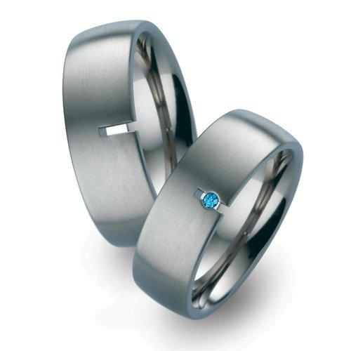 TitanFactory Titanium trouwringen 51739BL