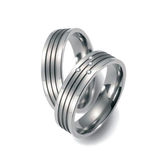 TitanFactory Titanium trouwringen 51320/50982