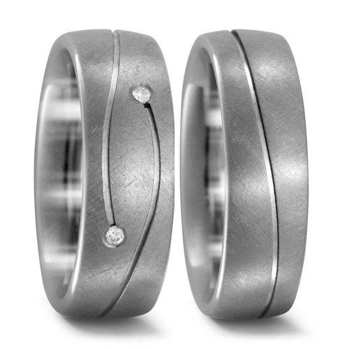 TitanFactory Titanium trouwringen 51925