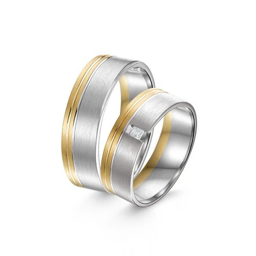 ItaloDesign Gouden trouwringen SI48