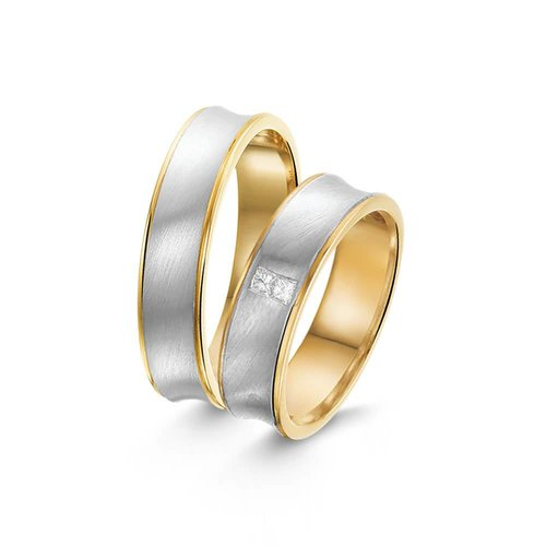 ItaloDesign Gouden trouwringen SI41