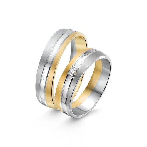 ItaloDesign Gouden trouwringen SI40